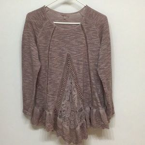 Simply Couture Dusty Rose Tunic S